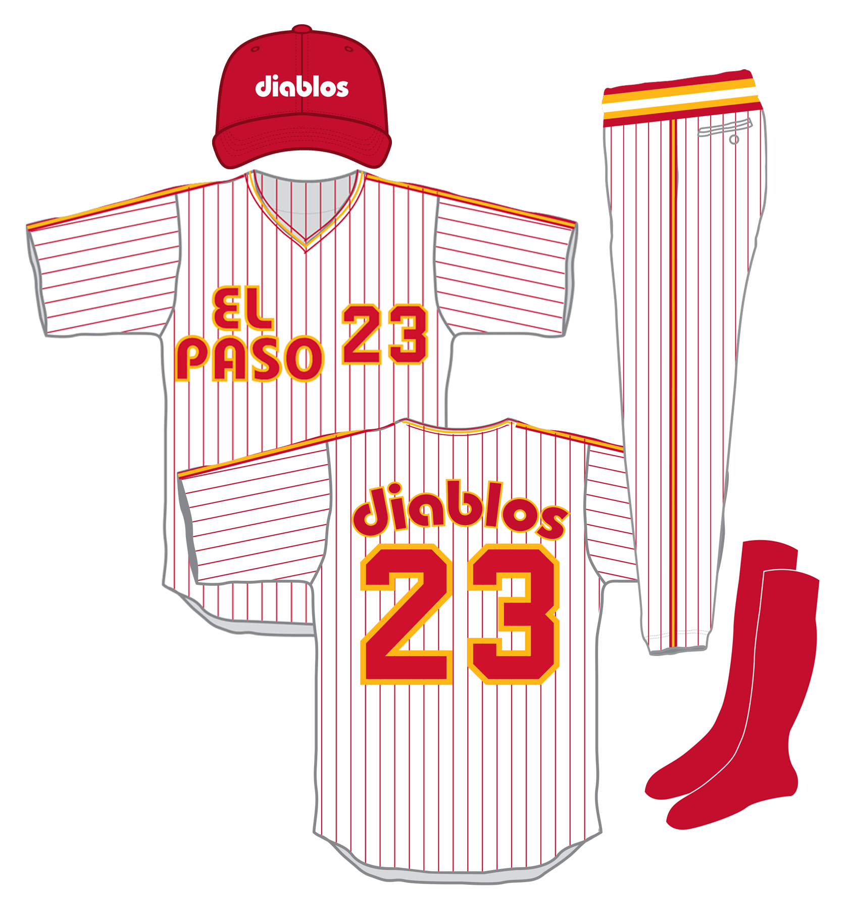 Baseball uniform clipart clip free library Wednesday, El Paso Diablos day - MOSAE SPORTS - Baseball and ... clip free library