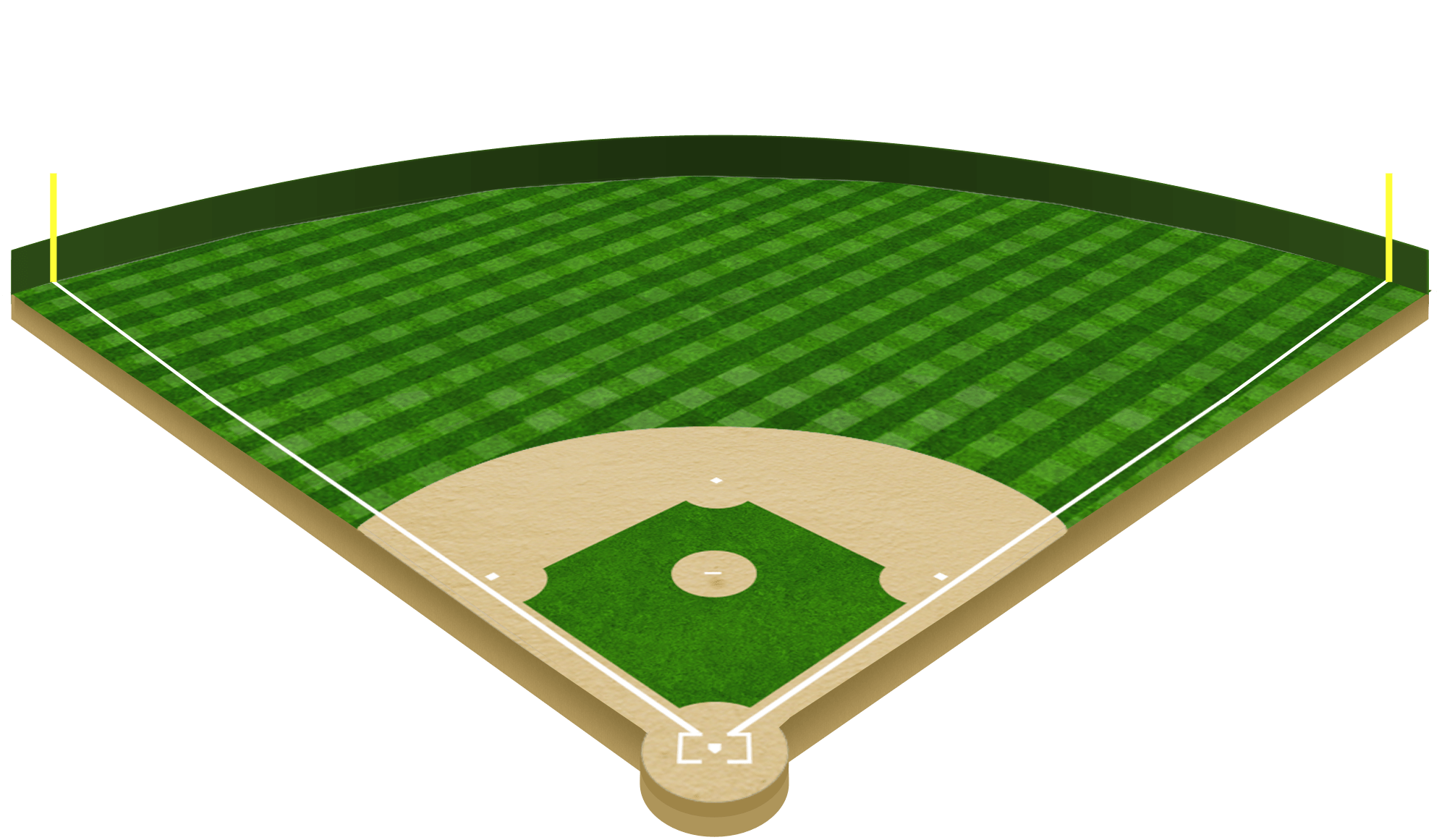 Baseball Diamond Image Royalty Free