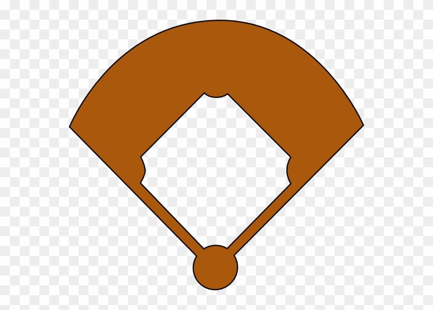 Baseball diamond black white clipart png transparent library Baseball Field Clip Art At Clker - Baseball Field Clipart Black And ... png transparent library