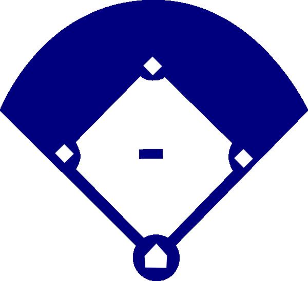Baseball diamond clipart png freeuse library Baseball Field Blue Clip Art at Clker.com - vector clip art online ... freeuse library