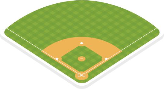 Baseball diamond images clipart banner freeuse library 91+ Baseball Diamond Clipart | ClipartLook banner freeuse library