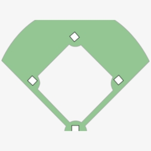 Baseball diamond vector clipart png graphic transparent Baseball Bat Clipart Baseball Diamond - Softball Field Clipart ... graphic transparent