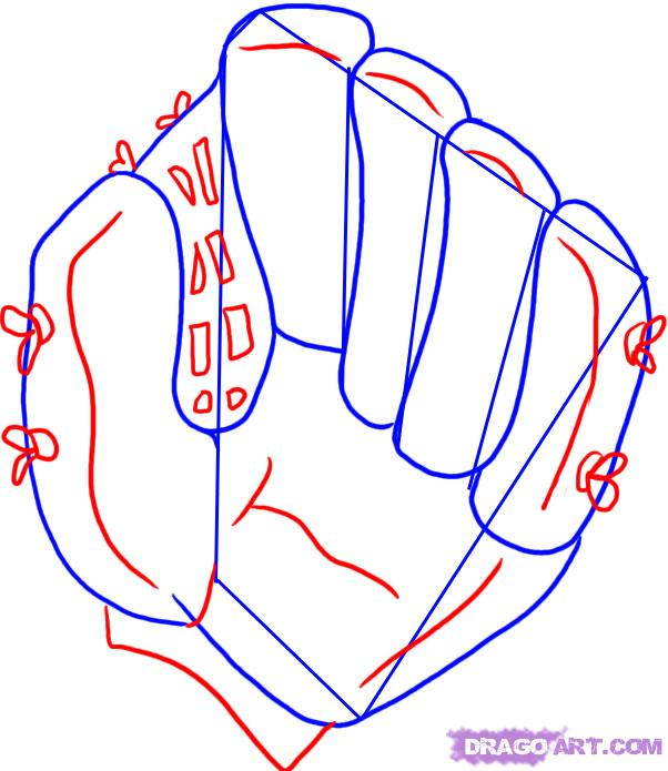Baseball drawings clipart svg black and white Baseball Glove Drawing   Free download best Baseball Glove Drawing ... svg black and white