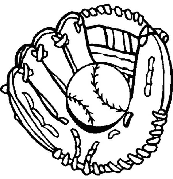 Baseball drawings clipart svg black and white stock Drawings of baseball gloves clipart - ClipartBarn svg black and white stock