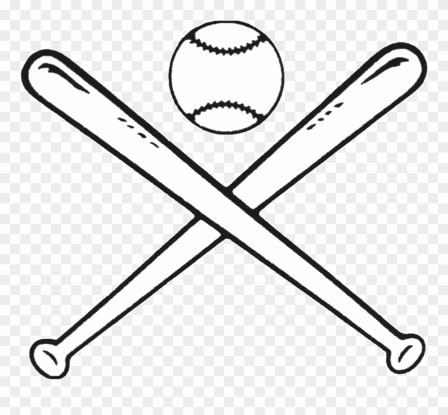Svg baseball clipart black and white free picture freeuse Baseball Bats Drawing Bat And Ball Games Clip Art - Baseball Clipart ... picture freeuse