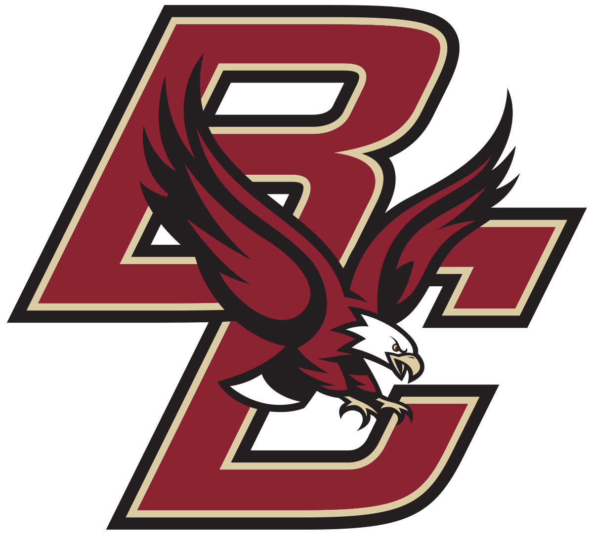 Boston college eagles wikipedia. Eagle school mascot clipart