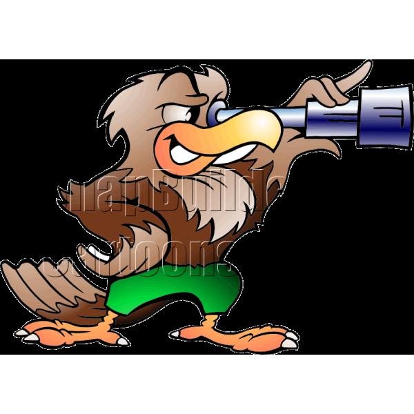 Baseball eagle mascot clipart graphic freeuse stock Eagle with Telescope graphic freeuse stock