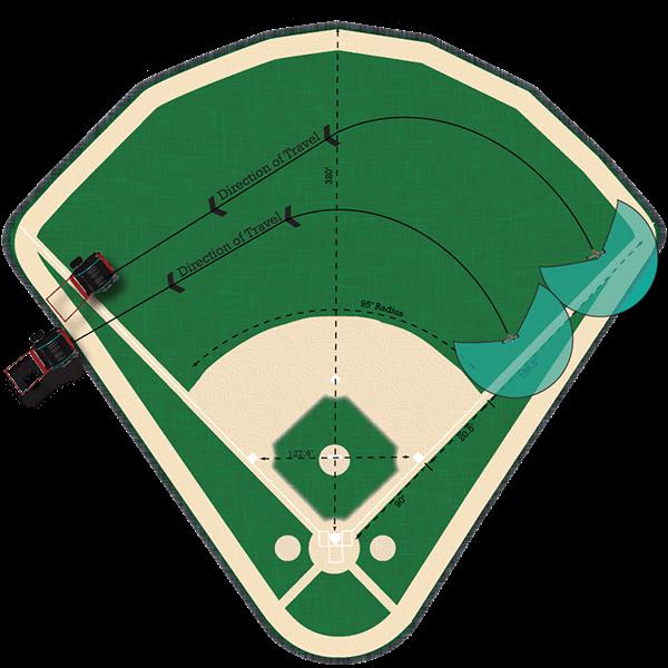 Baseball field clipart image free download KID_Micro Rain Sports Field Designs on Behance image free download
