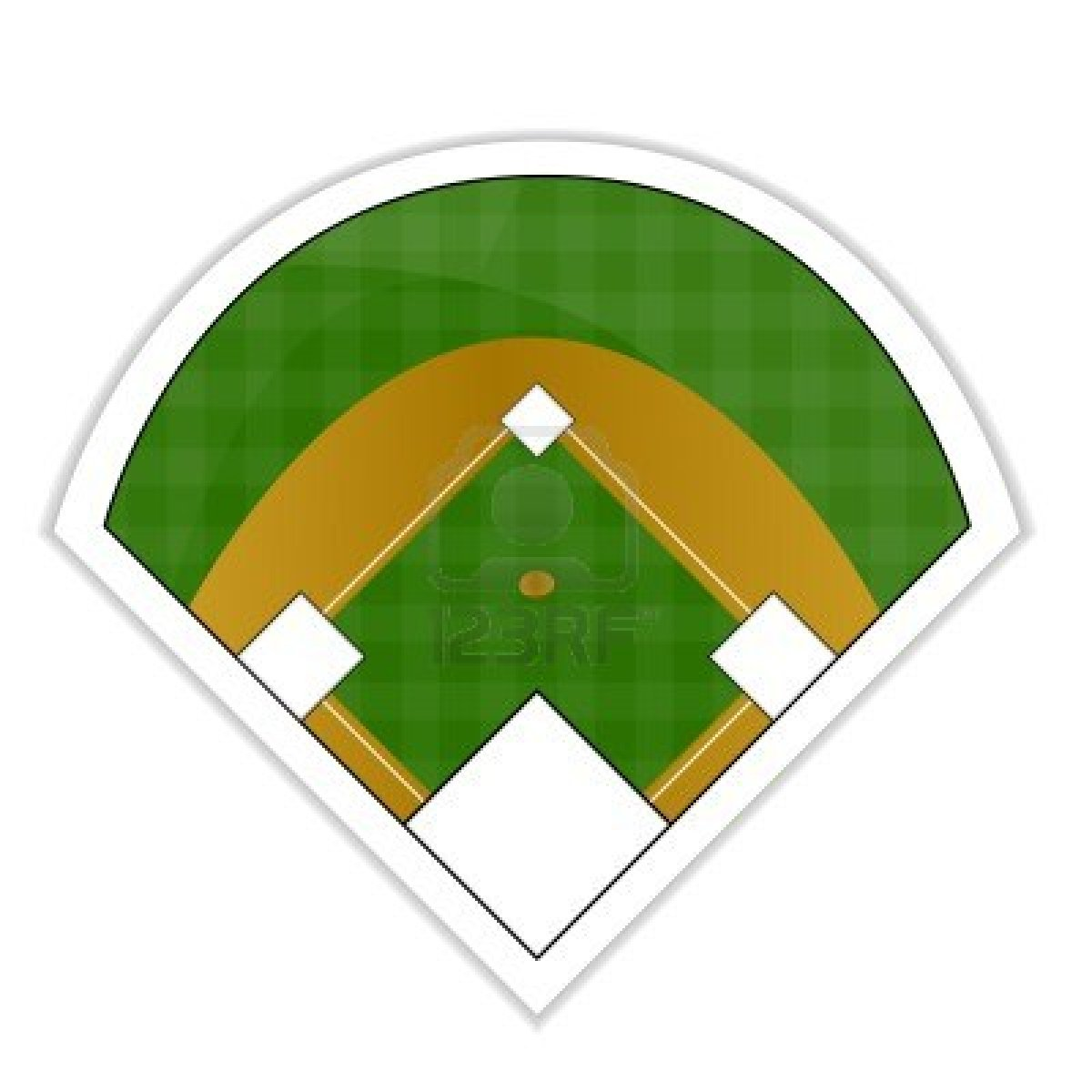 Baseball diamond images clipart graphic black and white download Free Baseball Field, Download Free Clip Art, Free Clip Art on ... graphic black and white download