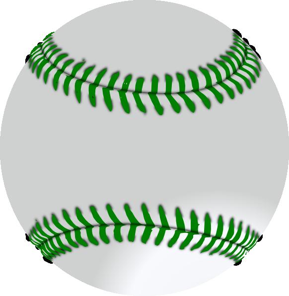 Bug baseball clipart jpg library library Green Baseball Clip Art at Clker.com - vector clip art online ... jpg library library