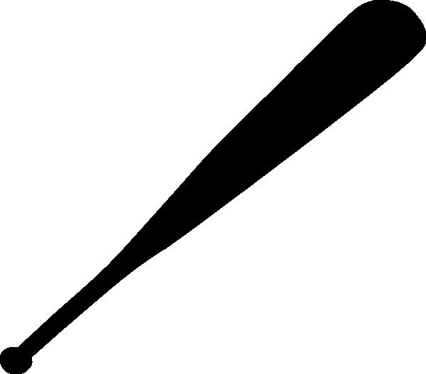 Baseball flying clipart vector download Baseball Bat Clipart Black And White vector download