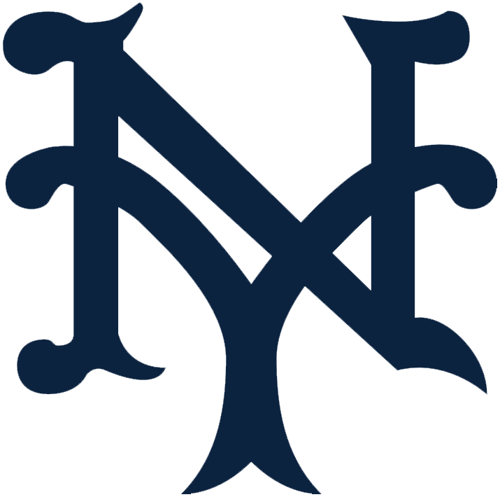 Baseball font clipart svg royalty free download New York Giants Primary Logo - National League (NL) - Chris ... svg royalty free download