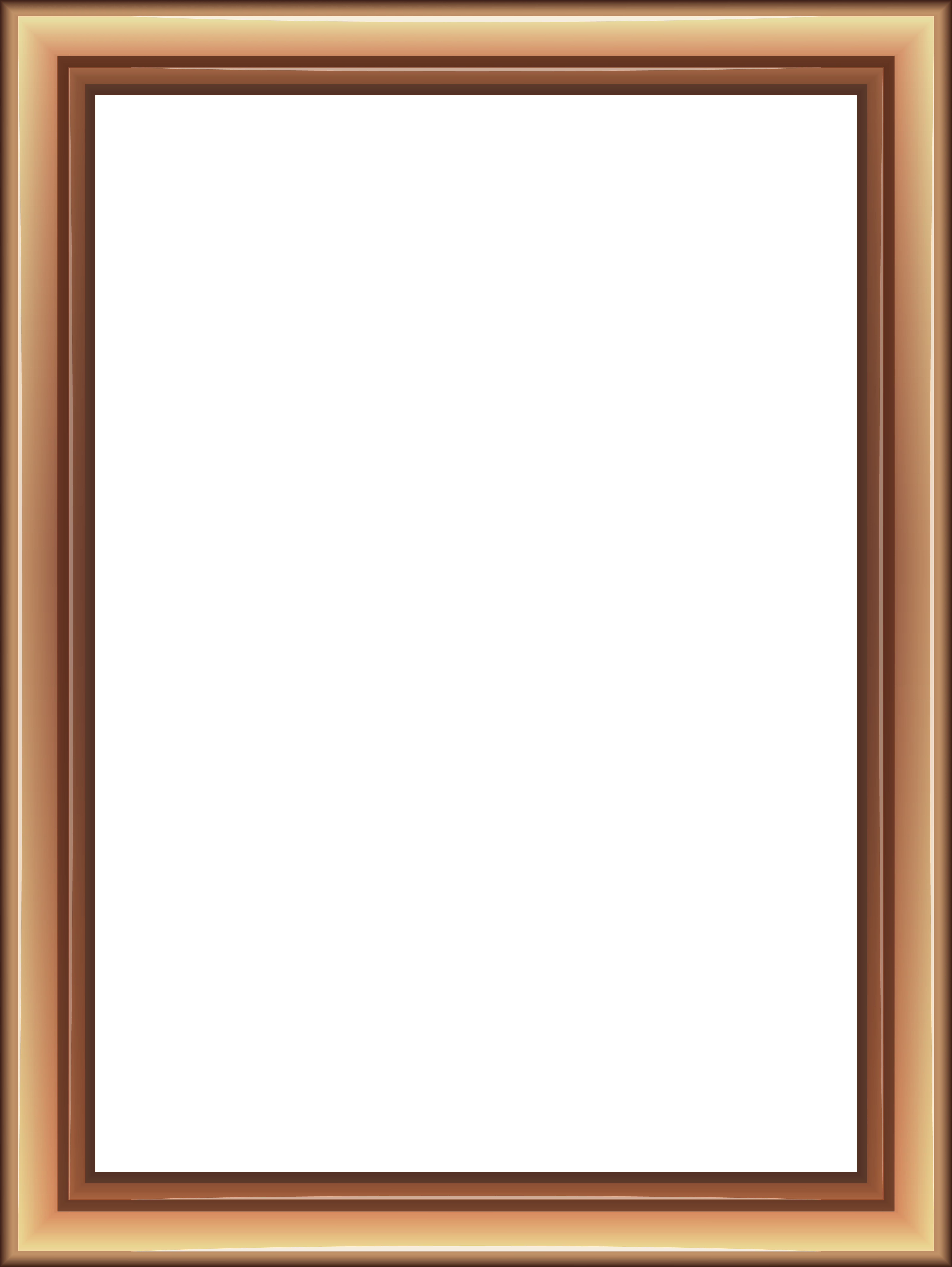 Baseball frame clipart picture library stock Transparent Classic Brown Frame PNG Image | Gallery Yopriceville ... picture library stock