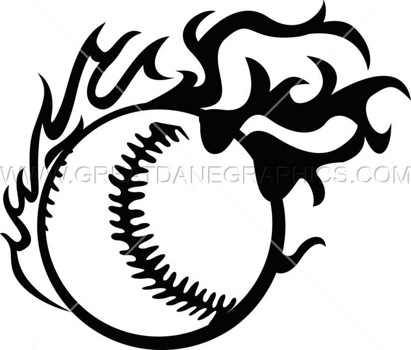 Baseball game clipart black and white png royalty free library Fireball clipart tribal ~ Frames ~ Illustrations ~ HD images ~ Photo ... png royalty free library