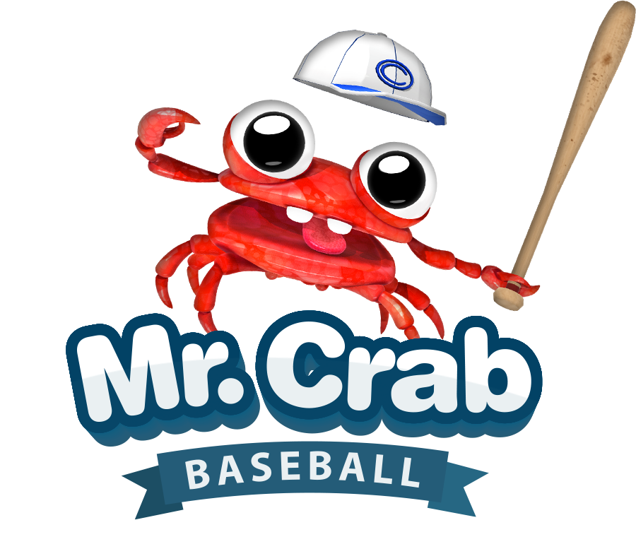 Baseball game on tv clipart banner black and white download Mr. Crab Baseball - Apple TV Exclusive Now Available - Invision Game ... banner black and white download