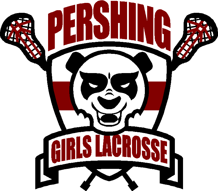 Baseball grandma clipart banner black and white stock Pershing Girls Lacrosse Spirit Store banner black and white stock
