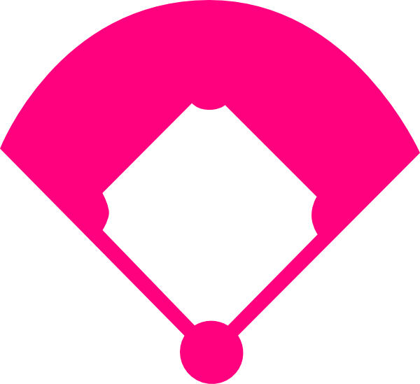 Heart baseball clipart clipart freeuse Baseball Field Clip Art at Clker.com - vector clip art online ... clipart freeuse