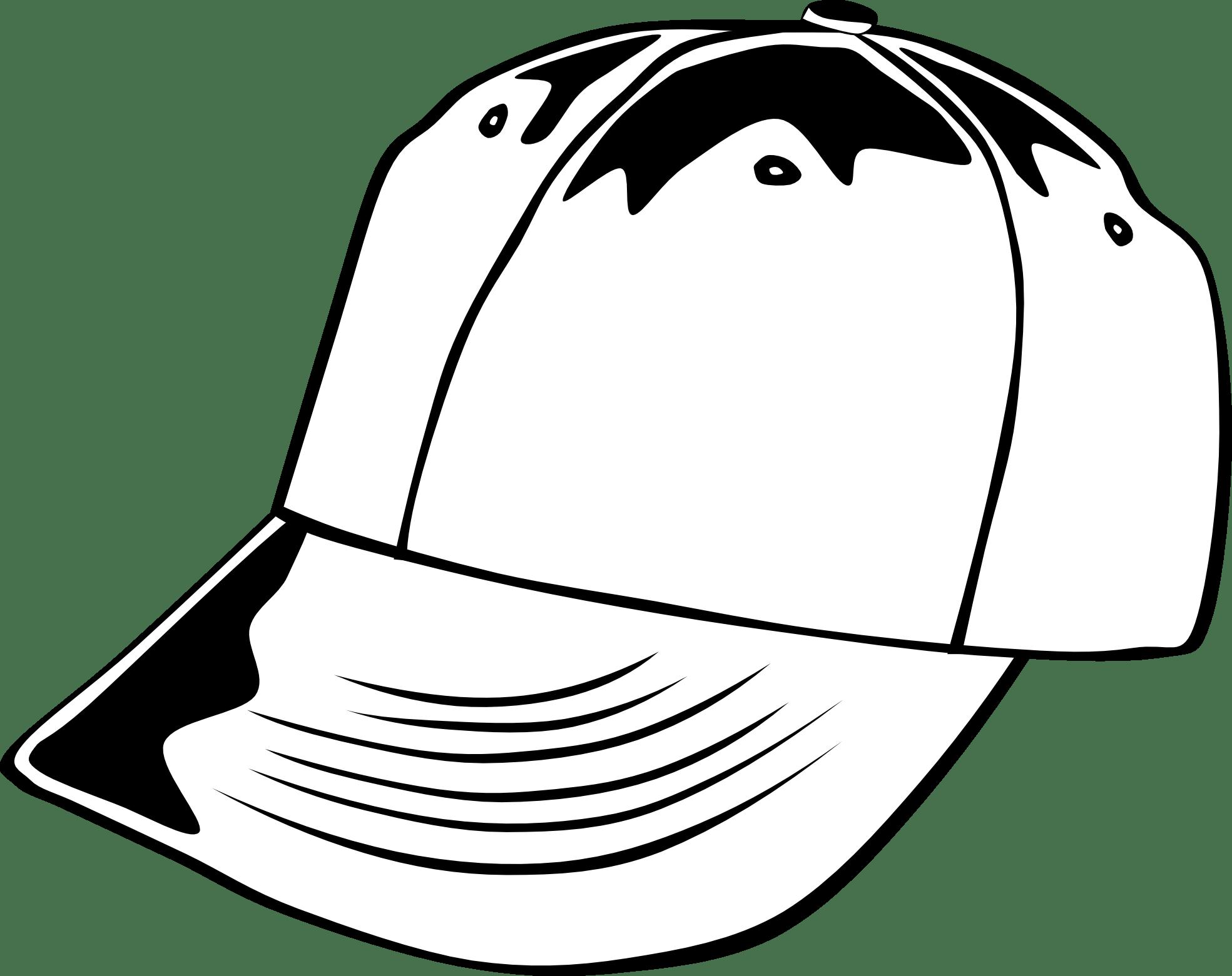Baseball hat front facing clipart transparent stock Baseball Hat Template - Costumepartyrun transparent stock