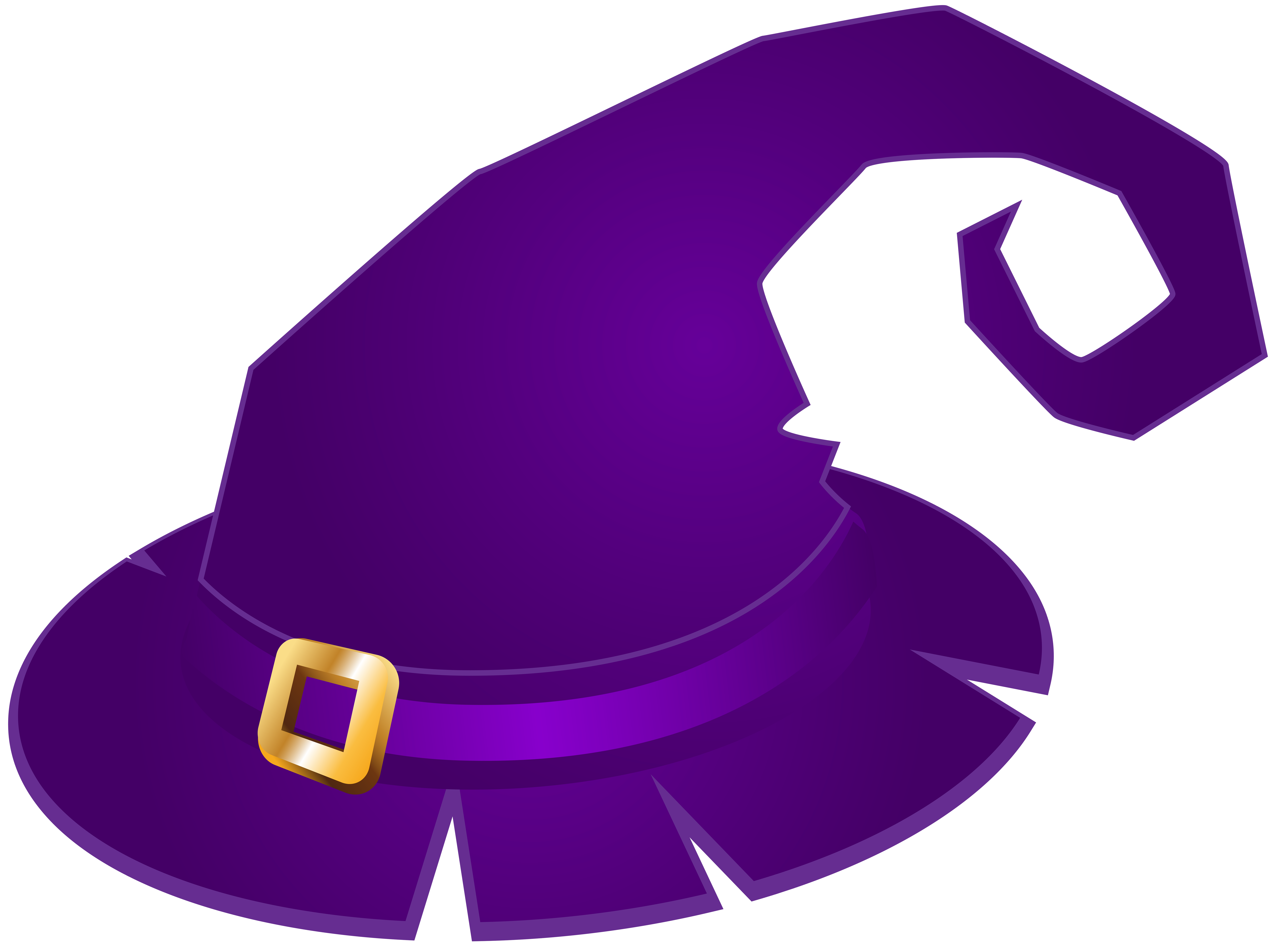 Halloween witch hat clipart clip art transparent Violet Clipart Hat Free collection | Download and share Violet ... clip art transparent