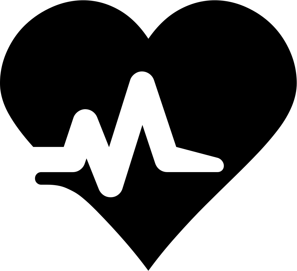 Heartbeat basketball clipart png library Heartbeat Svg Png Icon Free Download (#425820) - OnlineWebFonts.COM png library