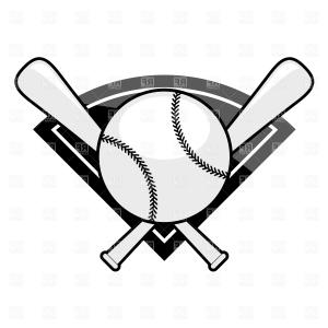 Baseball helment with bats clipart black and white clipart black and white download Photostock Vector Abstract Vector Illustration Black And White ... clipart black and white download