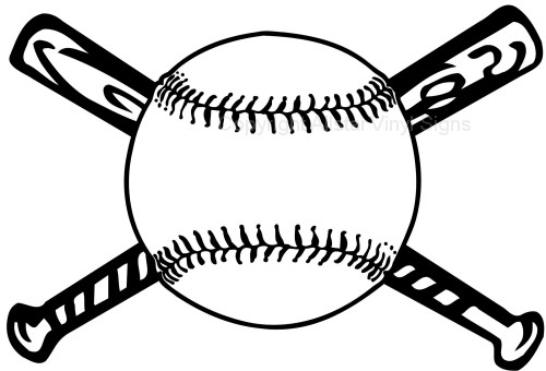 Baseball helment with bats clipart black and white image free stock Baseball Outline | Free download best Baseball Outline on ClipArtMag.com image free stock
