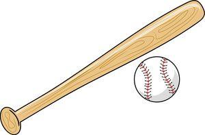 Baseball bat images clipart
