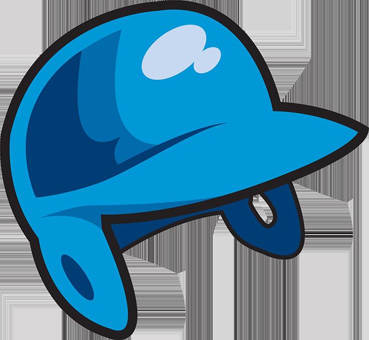 Clipart baseball helmet banner free download Baseball bat Batter Baseball Umpire - Cartoon hand painted blue hat ... banner free download