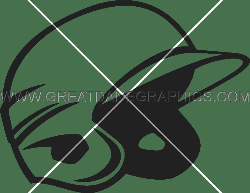 Clipart baseball helmet banner freeuse download Baseball Helmet | Production Ready Artwork for T-Shirt Printing banner freeuse download