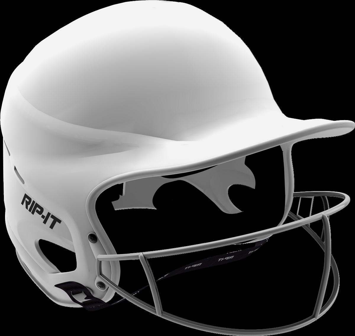 Baseball helmet clipart black and white image free stock RIP-IT Vision Pro Matte Softball Batting Helmet | Softball.com image free stock