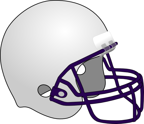 Football helmet clipart black. And white panda free
