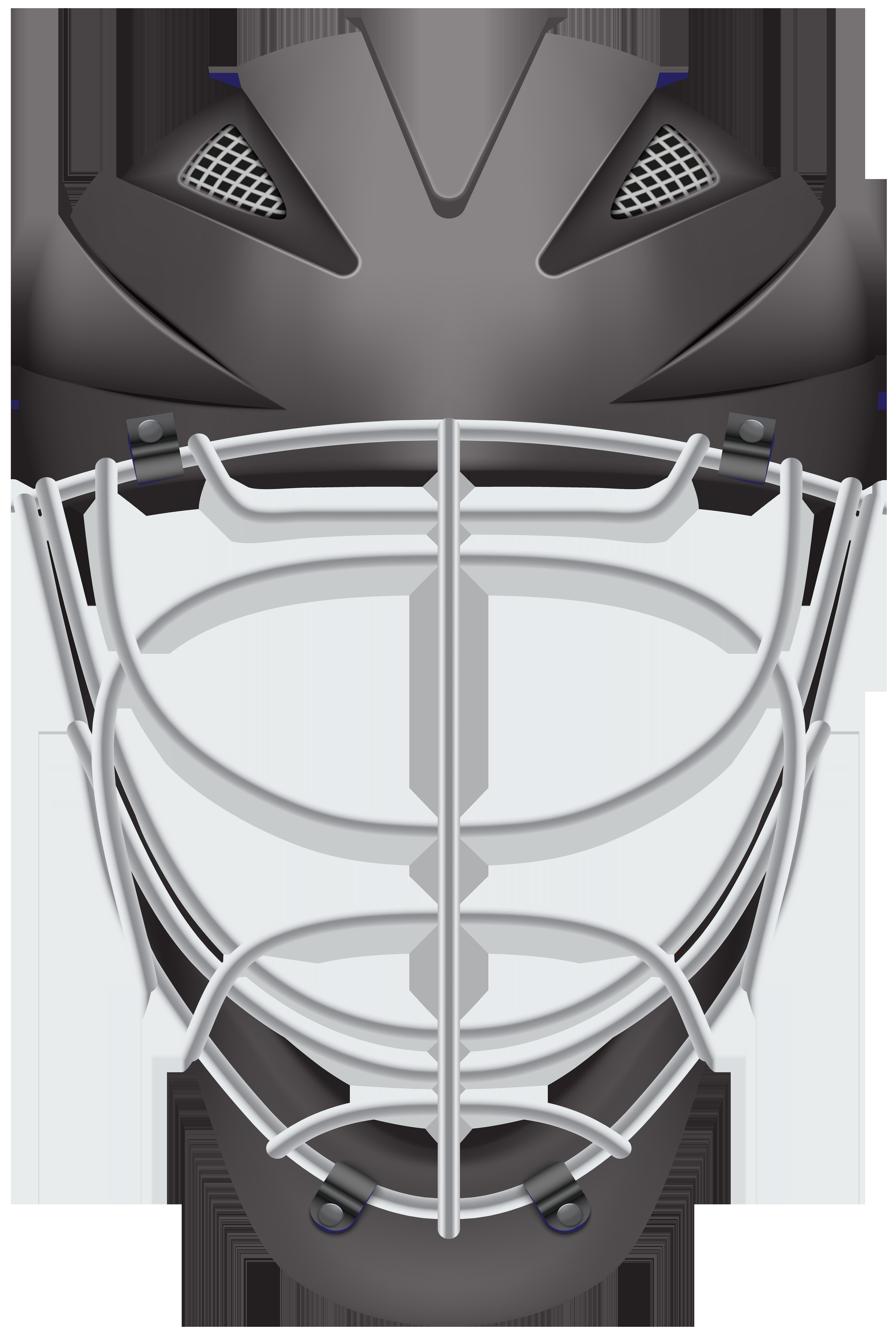 Baseball helmet clipart black and white image black and white library Football helmet Lacrosse helmet Hockey helmet Clip art - Hockey ... image black and white library