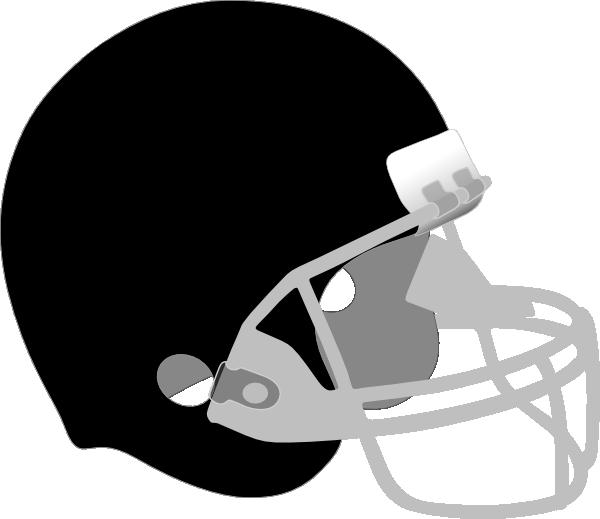 Baseball helmet clipart black and white banner black and white download Black And Gray Helmet Clip Art at Clker.com - vector clip art online ... banner black and white download