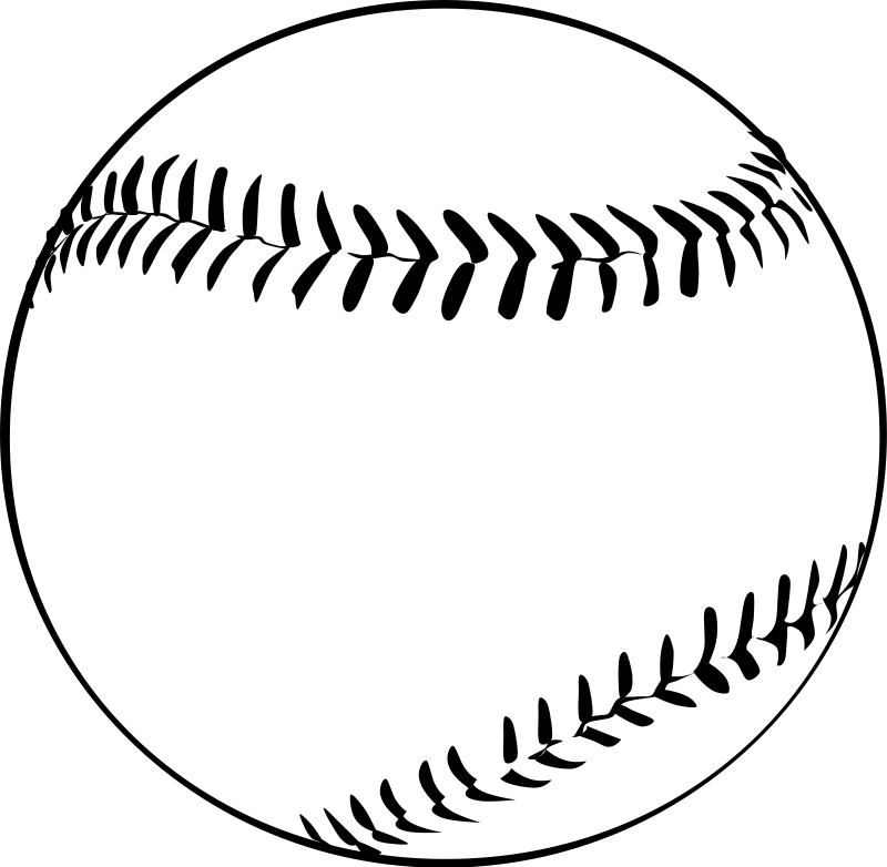 Baseball home plate clipart free image freeuse stock Baseball | Free Stock Photo | Illustration of a baseball | # 14505 image freeuse stock