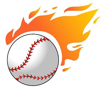 Baseball in motion clipart image stock Free Baseball flames Clipart and Vector Graphics - Clipart.me image stock