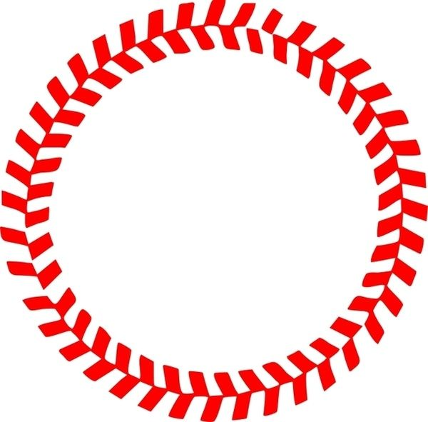 Baseball inside cricle with cross through it clipart vector transparent library Baseball Stitches in a Circle Vector | Crafty Cricut Explore Air ... vector transparent library