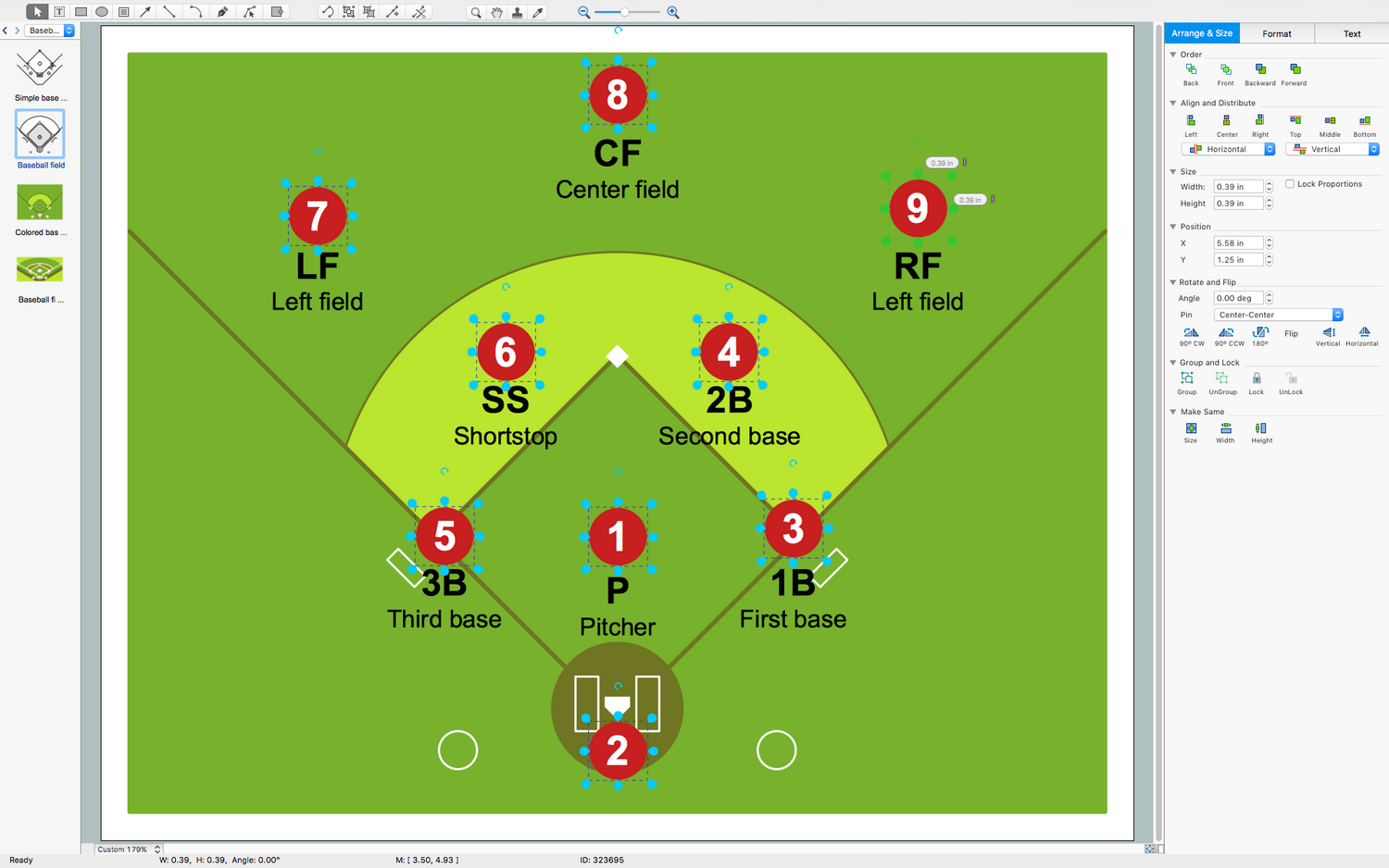 Baseball inside cricle with cross through it clipart clip art freeuse stock Baseball Solution | ConceptDraw.com clip art freeuse stock