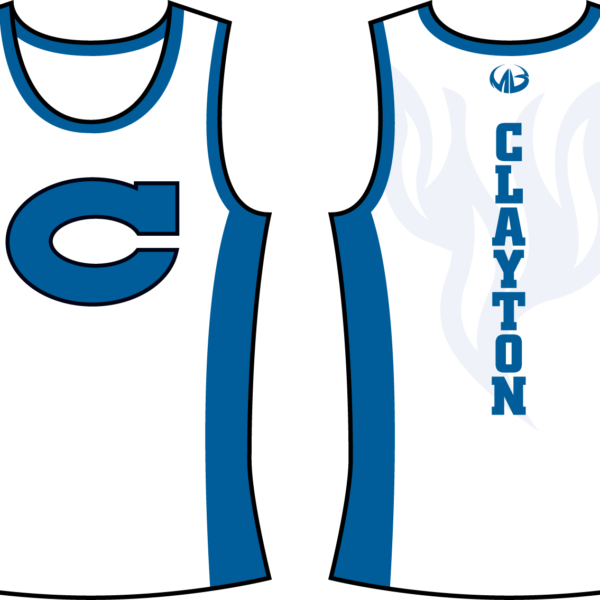 Baseball jersey clipart clipart transparent library Clayton Comets Track Jersey Only - Moneyball Sportswear clipart transparent library