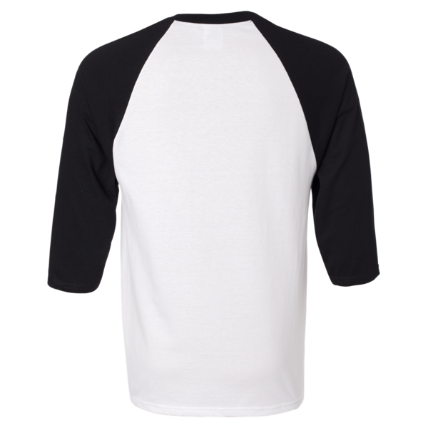 Baseball t shirt clipart graphic black and white download ¾ Sleeve Raglan Baseball T-Shirt - Custom T Shirts Printing | DLV ... graphic black and white download