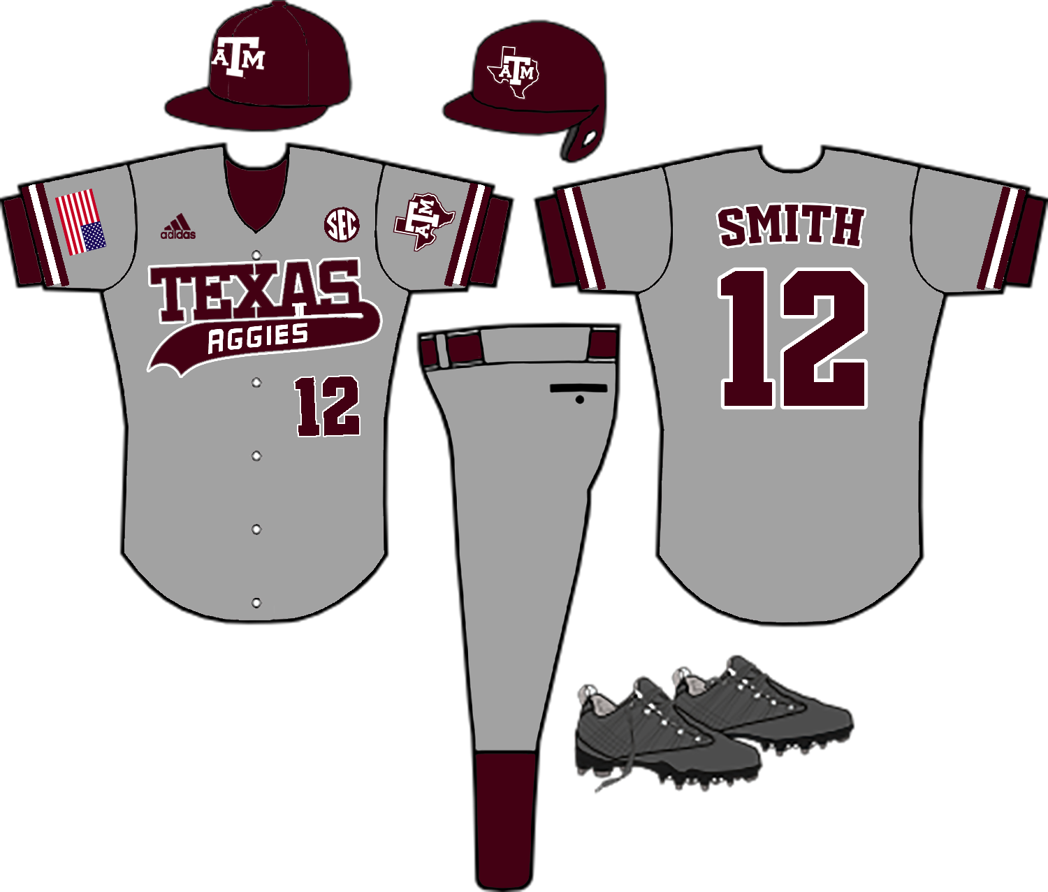 Baseball jersey clipart stripes transparent stock 2018 Uniform talk Page 3 | TexAgs transparent stock