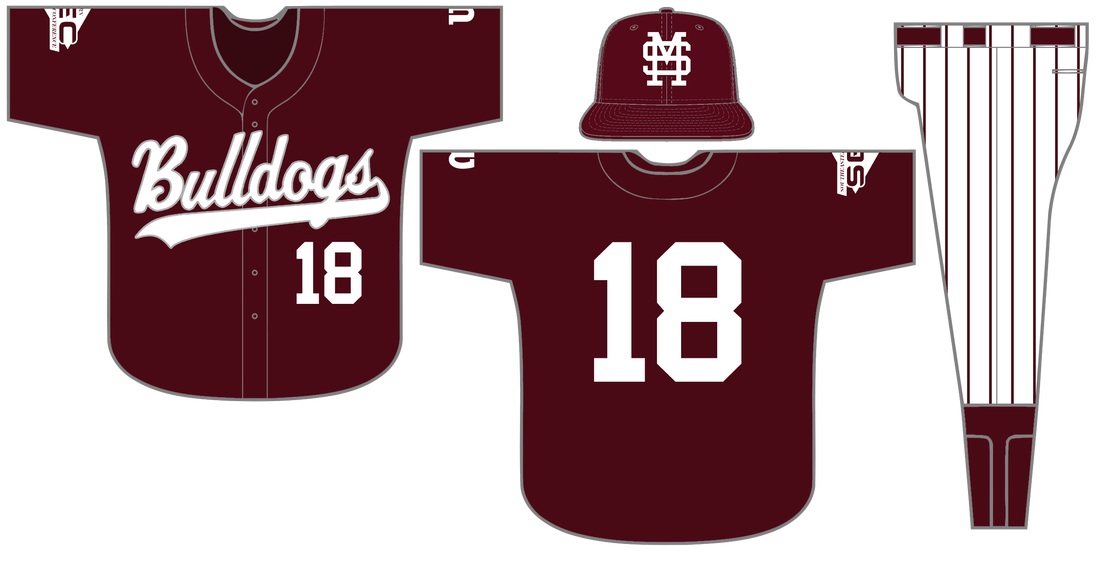 Baseball jersey clipart stripes clip library download Baseball Uniform History - Hail State Unis clip library download