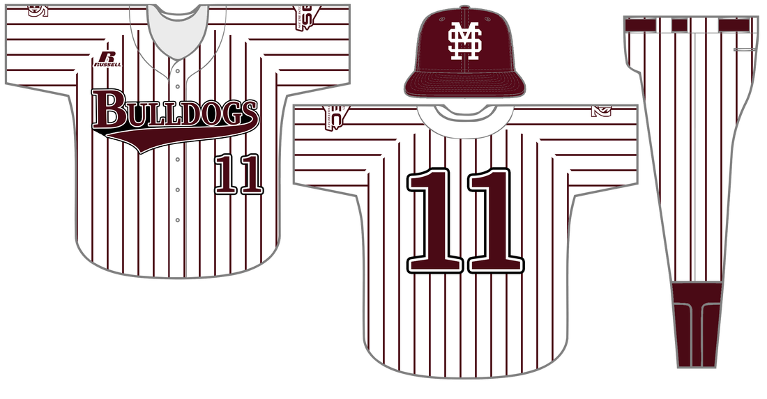 Baseball jersey clipart stripes clip art freeuse stock Baseball Uniform History - Hail State Unis clip art freeuse stock