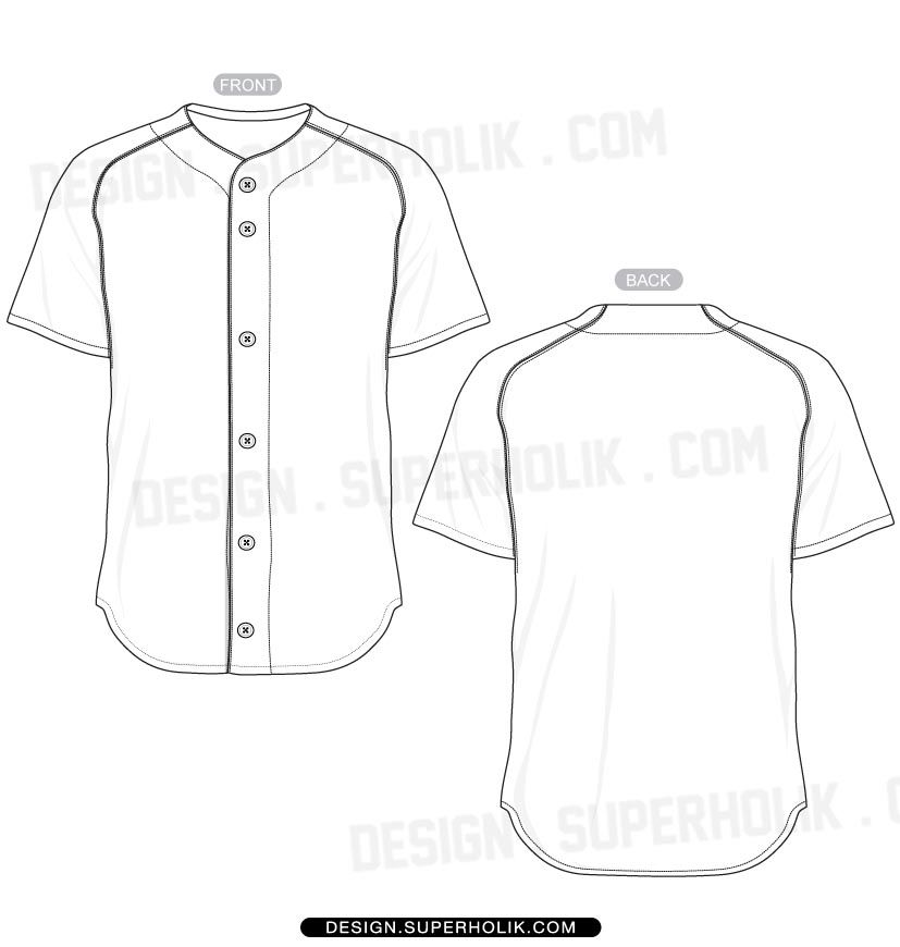 Baseball jersey style shirts clipart png freeuse library Baseball jersey shirt template set | Draft | Baseball jerseys ... png freeuse library