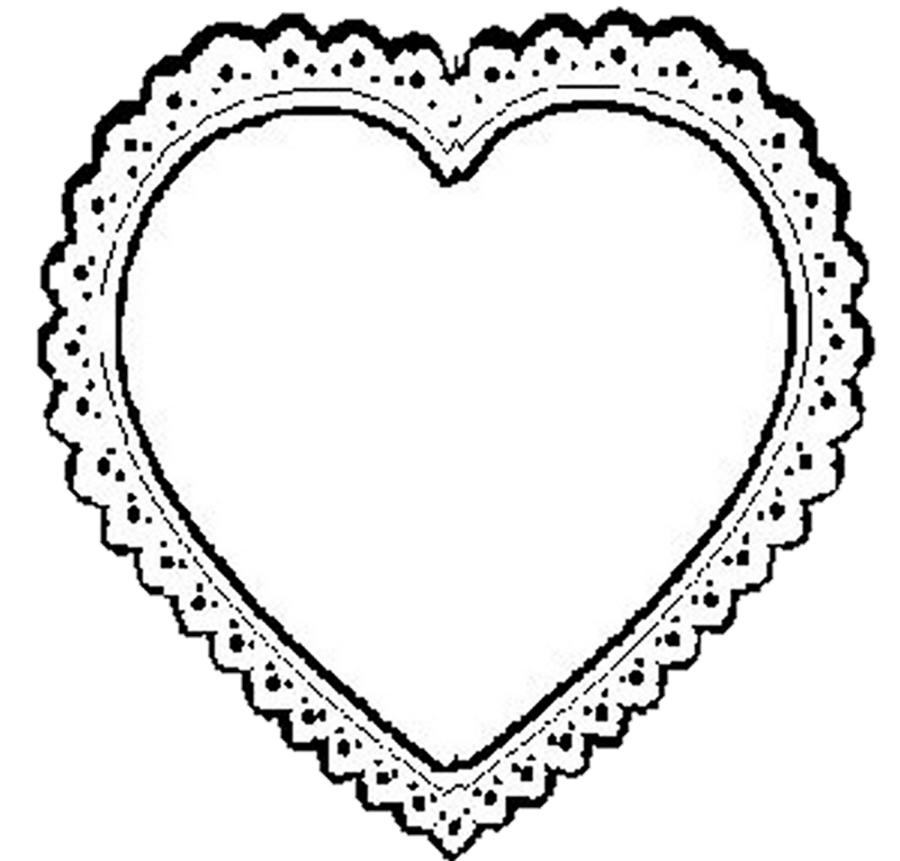 Heart shaped glasses clipart jpg black and white Laces clipart heart shaped ~ Frames ~ Illustrations ~ HD images ... jpg black and white