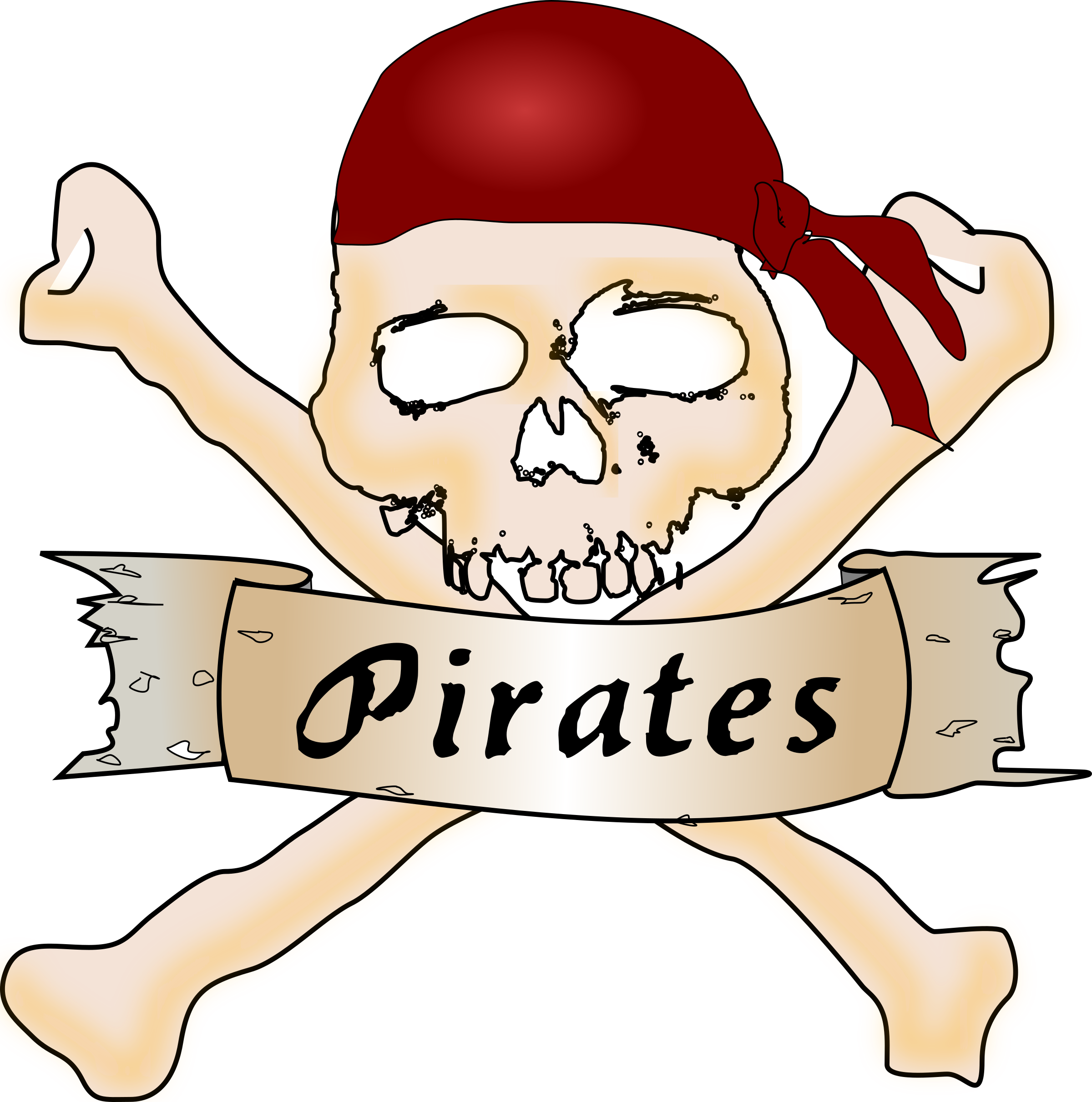 Scared baseball clipart graphic free library Pirates Clipart - Free Clipart on Dumielauxepices.net graphic free library