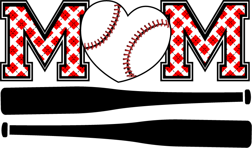 Baseball mom clipart picture transparent Baseball Softball Custom Transfers- 2017 picture transparent