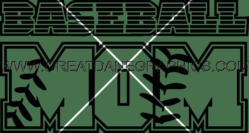 Baseball mom clipart free vector clip art download Baseball Mom | Production Ready Artwork for T-Shirt Printing clip art download