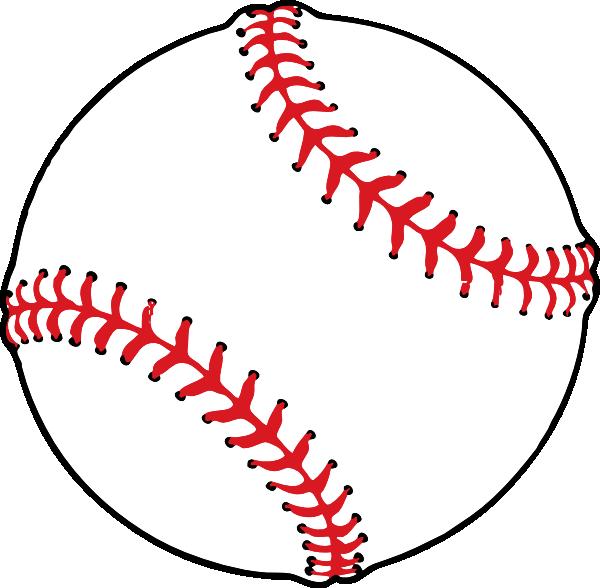 Clip art at clker. Baseball tails clipart
