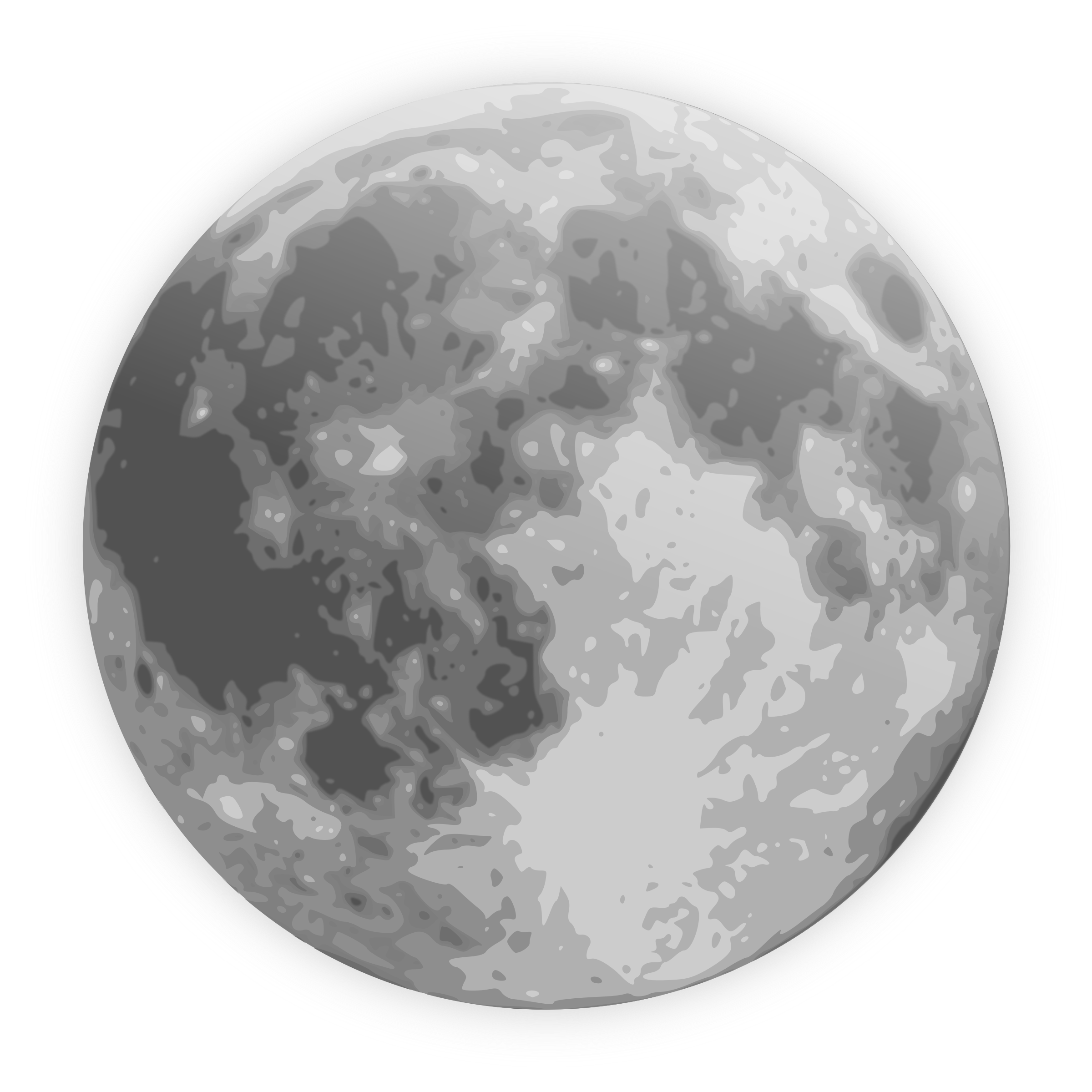 Sun and moon rotate clipart black and white picture free stock Moon Icons - PNG & Vector - Free Icons and PNG Backgrounds picture free stock