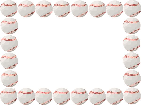 Baseballthemed clipart graphic library Free Baseball Border, Download Free Clip Art, Free Clip Art on ... graphic library